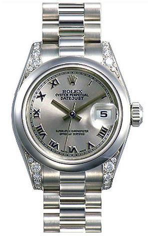 Rolex Datejust 31 178296 rhodium dial Roman numerals