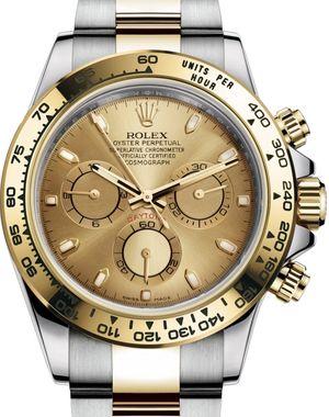 116503 Champagne Rolex Cosmograph Daytona