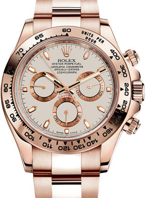 Rolex Cosmograph Daytona 116505 Ivory-coloured