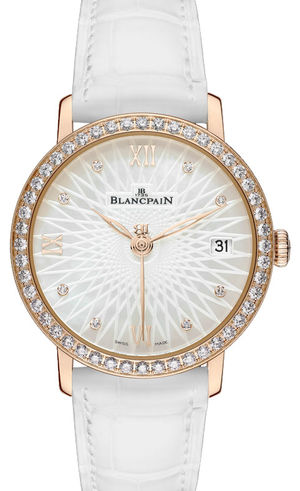 6604 2944 55A Blancpain Women Quantième