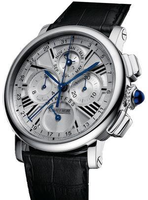 Perpetual Calendar Chronograph WG Cartier Rotonde de Cartier