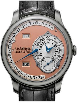 octa calendrier pt 40mm pink dial F.P.Journe Retrospectives Octa