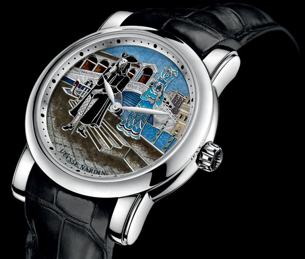 719-63/VEN Ulysse Nardin часы Carnival of Venice Minute Repeater Limited Edition 18