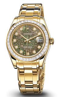 81308BRIL black mother of pearl jubilee diamond di Rolex Pearlmaster