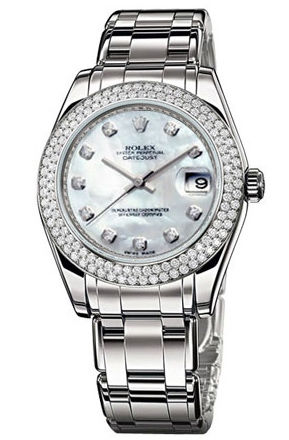 81339 mother of pearl dial Rolex Pearlmaster