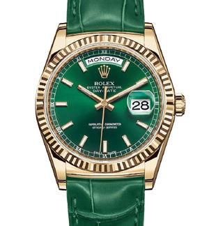 Rolex Day-Date 36 118138 Green