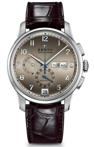 03.2072.4054/18.C711 Zenith часы Winsor Annual Calendar Boutique Edition