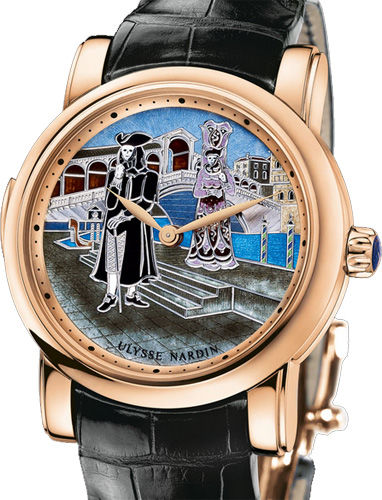 716-63/VEN Ulysse Nardin часы Carnival of Venice Minute Repeater Limited Edition 18