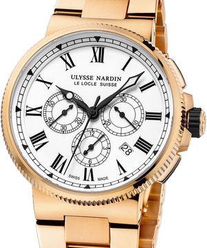 1506-150LE-8M Ulysse Nardin Marine Chronograph