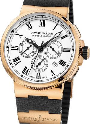 1506-150LE-3 Ulysse Nardin Marine Chronograph