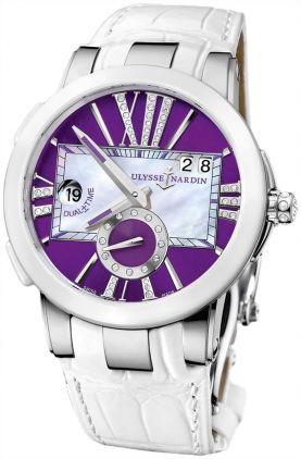 243-10/30-07 Ulysse Nardin Executive Dual Time Lady