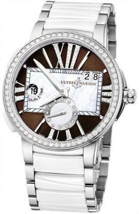 243-10b-7/30-05 Ulysse Nardin Executive Dual Time Lady