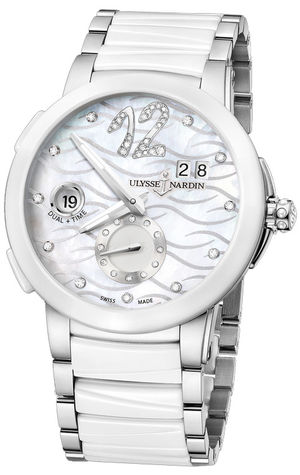 Ulysse Nardin Executive Dual Time Lady 243-10-7/691