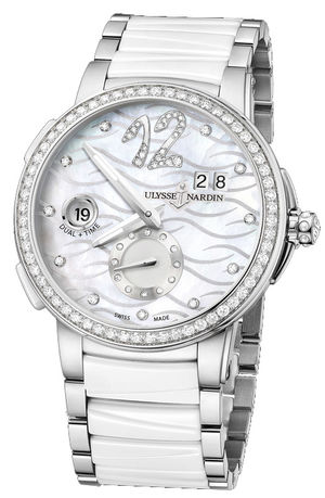 243-10B-7/691 Ulysse Nardin Executive Dual Time Lady