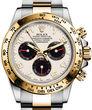 Rolex Cosmograph Daytona 116523 ivory black subdials dial