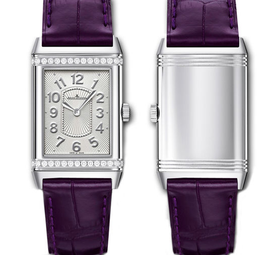 3208421 Jaeger LeCoultre часы Reverso Grande Lady Ultra Thin Stainless Steel