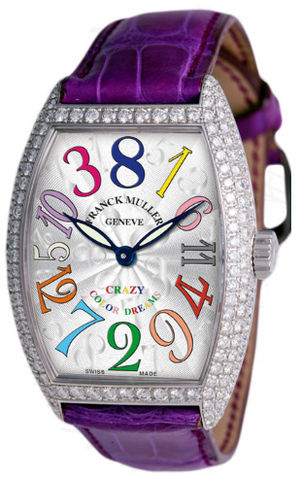 7851 CH COL DRM Franck Muller Crazy Hours