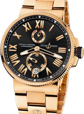 1186-122-8M/42 Ulysse Nardin Marine Chronometer