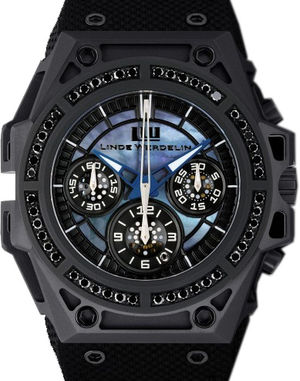 Linde Werdelin SpidoLite SpidoSpeed Chronograph Black Diamond