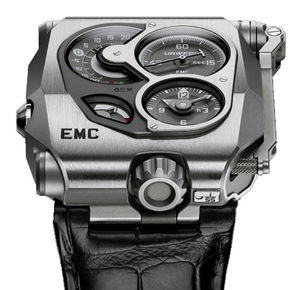 emc Titanium and steel Urwerk EMC Collection