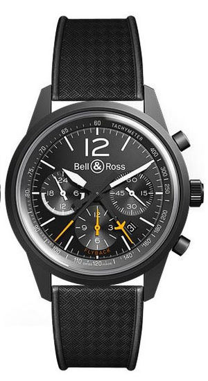 Bell & Ross Vintage BR BR 126 Blackbird Black