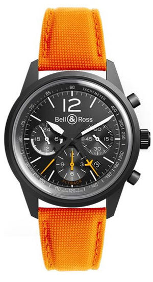 Bell & Ross Vintage BR BR 126 Blackbird Orange