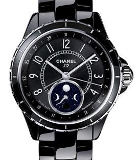 Chanel J12 Black H3406