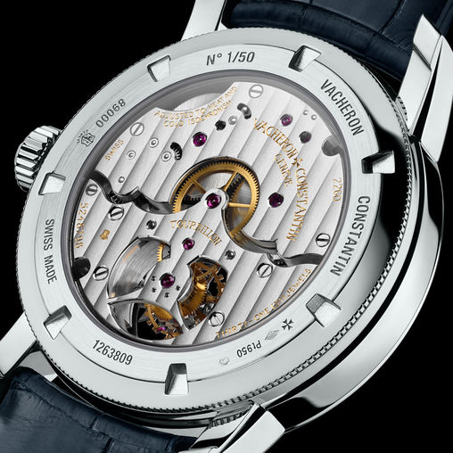 89000/000P-9843 Vacheron Constantin часы Traditionnelle 15 Day Tourbillon
