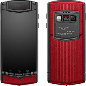 Titanium Sunset Red Vertu TI