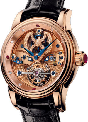 Tourbillon de la Roche Christophe Claret Pieces D'Art
