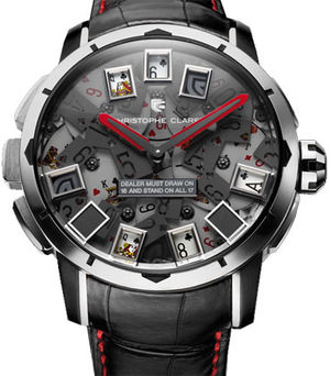 MTR.BLJ08.251-271 CARDS Christophe Claret Casino Game
