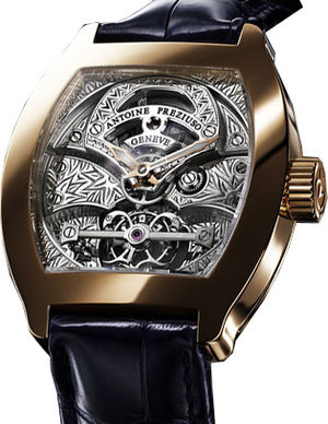Pink Gold Tourbillon Antoine Preziuso The Tourbillons