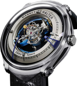 Deep Space Tourbillon Vianney Halter Deep Space Tourbillon