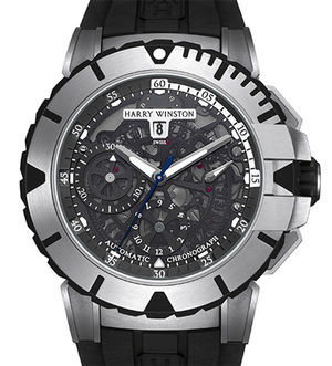Harry Winston Ocean Sport Chronograph and Diver OCSACH44ZZ001