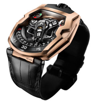 UR-210 Rose Gold Urwerk 210 Collection