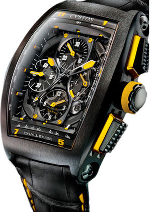 Challenge Chrono GP 05 Yellow Cvstos Masterpiece Twin-Time