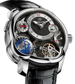 GF05 Platinum Black dial Greubel Forsey GMT