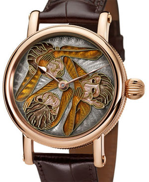 Chronoswiss Artist Unique Timepieces The Three Apes