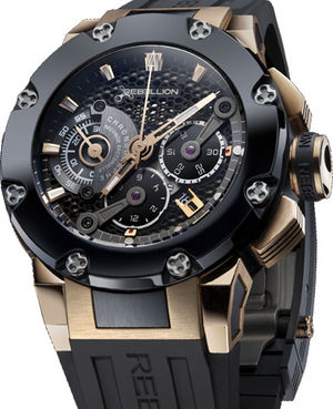 Rebellion Predator Predator Chrono Sectorial Second Ceram Rose Gold