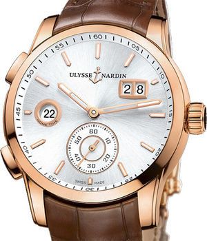 3346-126/91 Ulysse Nardin Dual Time Manufacture