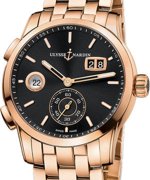 3346-126-7/92 Ulysse Nardin Dual Time Manufacture