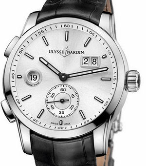 3343-126/91 Ulysse Nardin Dual Time Manufacture