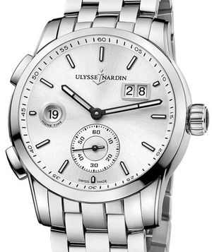 3343-126-7/91 Ulysse Nardin Dual Time Manufacture