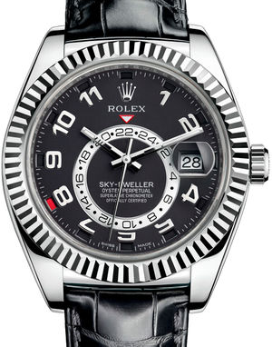 326139 Black Rolex Sky-Dweller