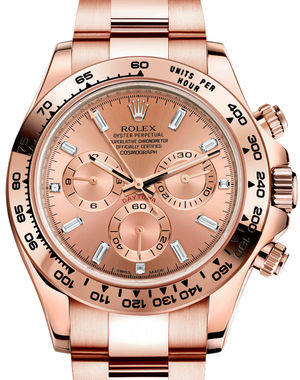 116505 Pink Rolex Cosmograph Daytona