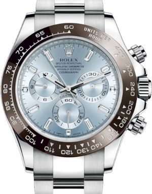 Rolex Cosmograph Daytona 116506 Ice blue baguette-cut diamond
