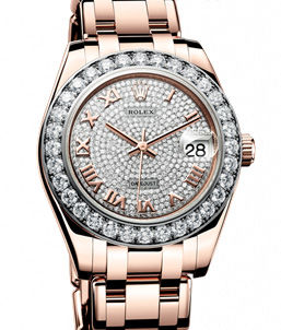 81285  Rolex Pearlmaster