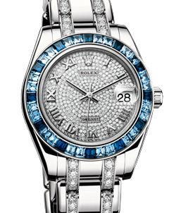 81349SA diamond bracelet Rolex Pearlmaster