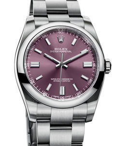 116000 Red Grape Rolex Oyster Perpetual