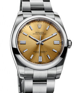 116000 White Grape Rolex Oyster Perpetual